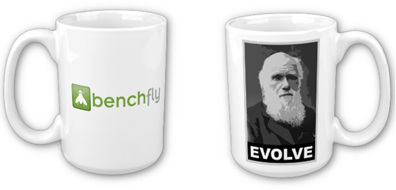 BenchFly Evolve Coffee Mug