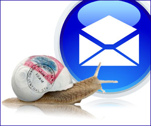 Difference between Snail Mail and Email